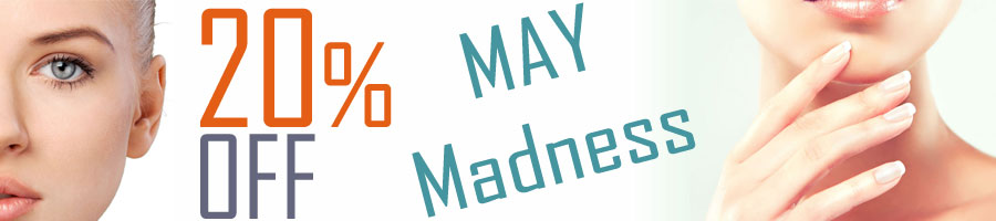 May Madness 20% OFF